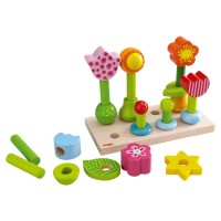 HABA - Pegging Game Flower Garden