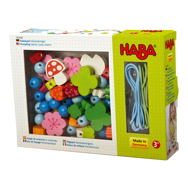 HABA - Threading Game Lucky Charm