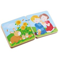 HABA - Wooden Book Baby Animals