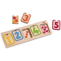 HABA - First Numbers 3 Layer Puzzle