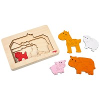 HABA - Farm Animals Layer Puzzle